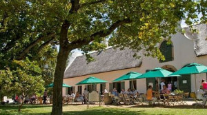 The relaxed setting at Jonkershuis at Groot Constantia