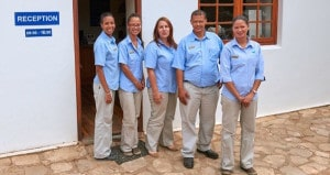 The friendly and competent staff at De Hoop will look after you well.