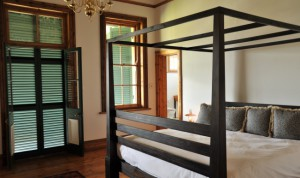 One of the four ensuite bedrooms
