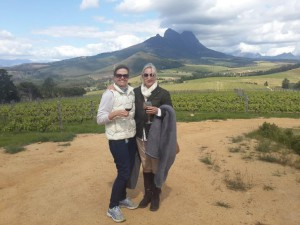 Good wine and views on wine safari at Warwick