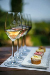 Delheim's decadent wine and cupcake pairing