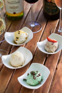 Clos Malverne's unique ice-cream and wine pairings