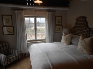 Bedroom in the Werf Cottage
